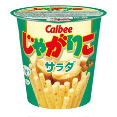 「じゃがりこ(サラダ味)」の画像検索結果