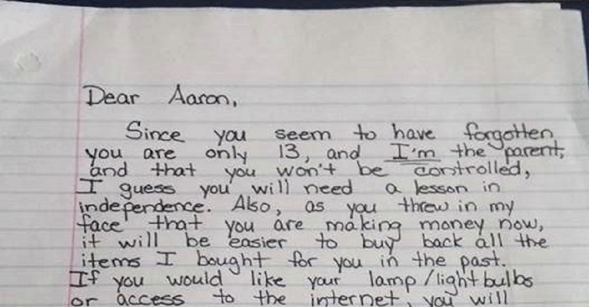 letter to my son from mom when wanted to be treated like an his 51252