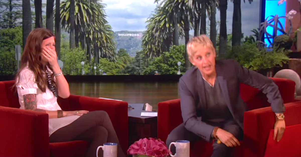 Screen Shot 2016 01 11 at 10.jpg - Ellen DeGeneres Treated Deaf Mother To Expensive Hearing Aid So That She Could Hear Her Daughter