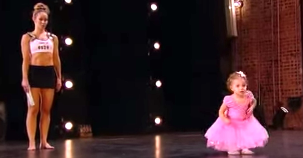 bree 3.jpg - Mother Impressed The Judges With Her Ballet Performance Before Her 2-Year-Old Daughter Stole The Show