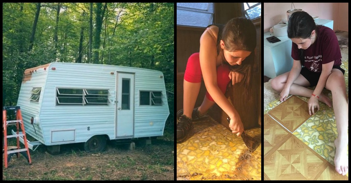glamp2.jpg - From Camper To Glamper! 14-Year-Old Beautifully Transformed Her 1974 Camper
