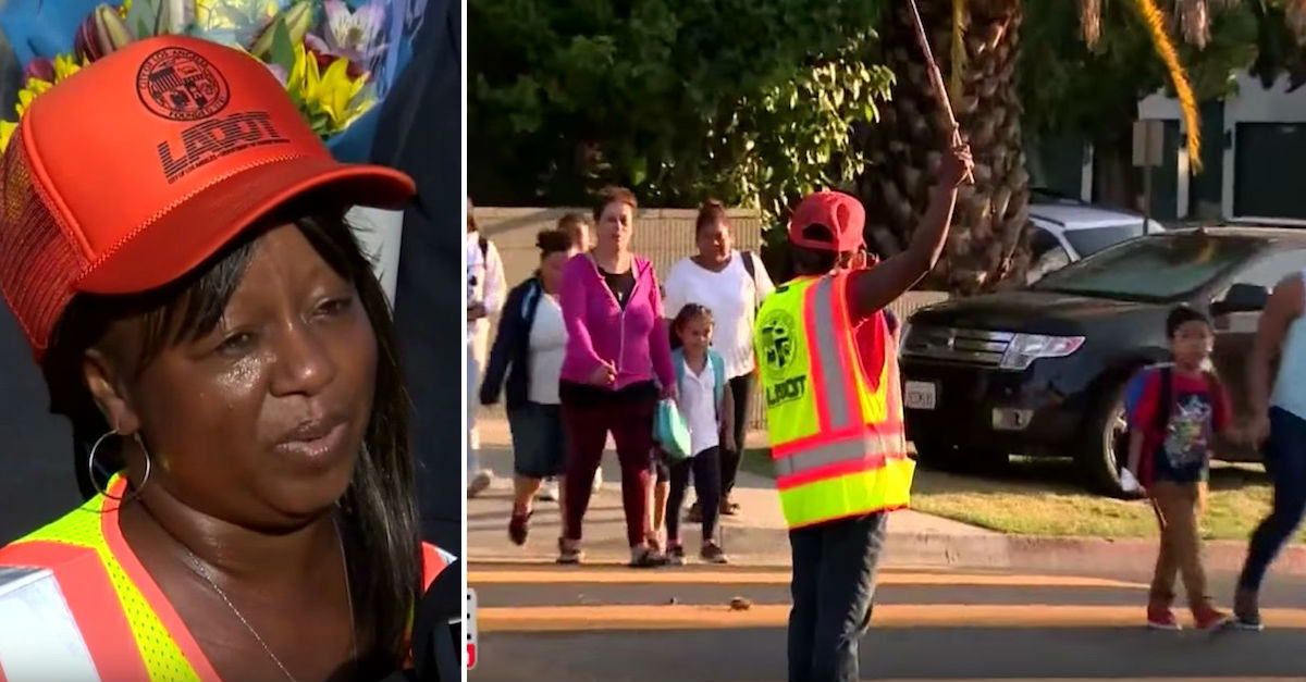 guard 1p.jpg - Heroic Crossing Guard Rescued Child From Kidnapper After Hearing Screams
