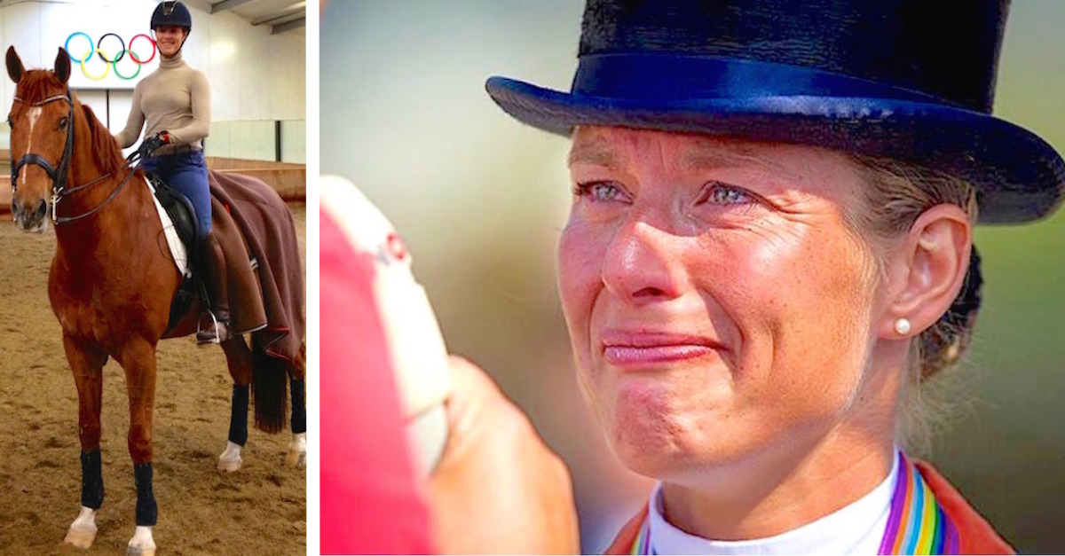horse.jpg - Gold Medal Athlete Quit Olympic Games Competition To Protect Her Sick Horse