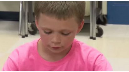 bullied pink 412x232.jpg - Boy Got Bullied For Wearing Pink Shirt, Mother Received Text From Her Son And Couldn't Believe Her Eyes