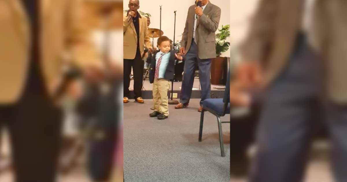 church.jpg - The Heavenly Voice Of 4-Year-Old Boy Surprised Churchgoers