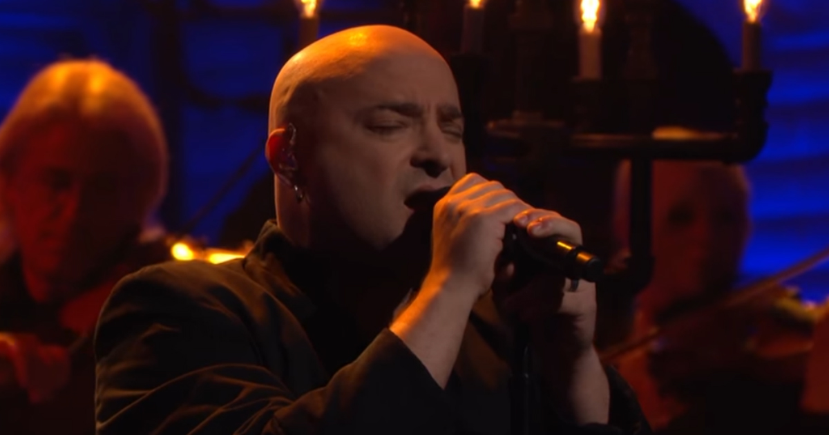 disturbed covers simon and garfunkel.jpg - Heavy Metal Band Disturbed Made A Cover Of 'The Sound Of Silence'