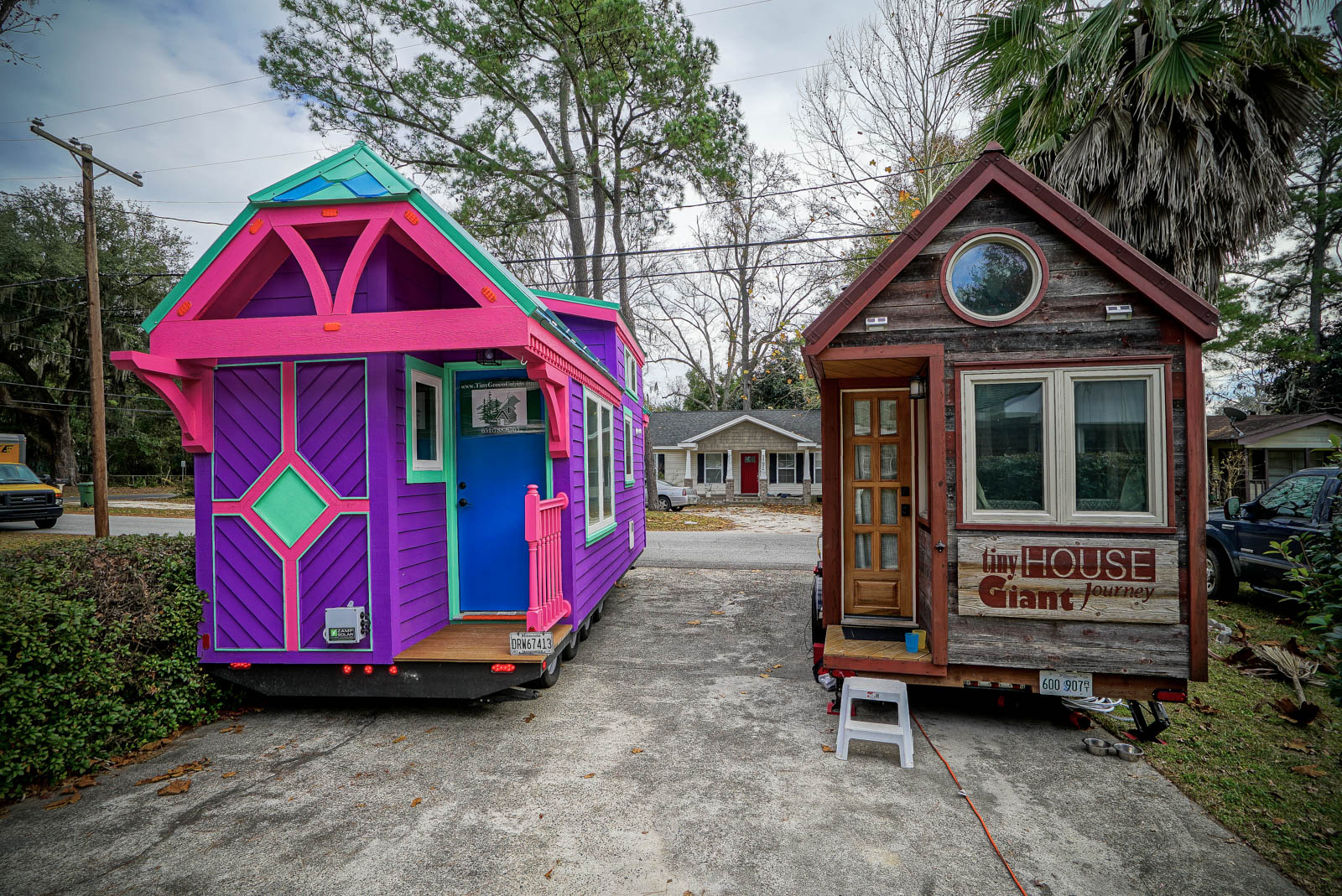 thgj and the ravenlore.jpg - Firefighters Designed Tiny, Colorful House That Looks Like It's From A Fairytale