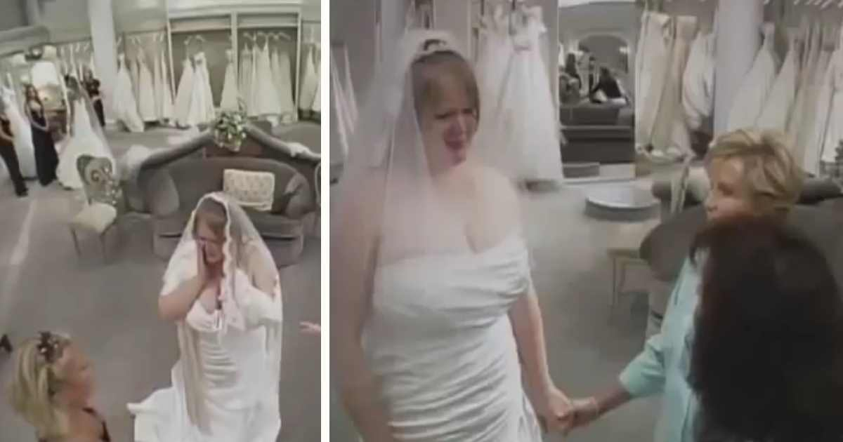 bride wedding dress bullies.jpg - Shopper Stepped In When Mom Insulted Overweight Daughter In Wedding Dress