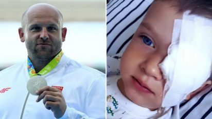 medalist sell medal 412x232.jpg - Discus Thrower Who Won Silver Medal Saved Life Of 4-Year-Old Boy With Retinoblastoma