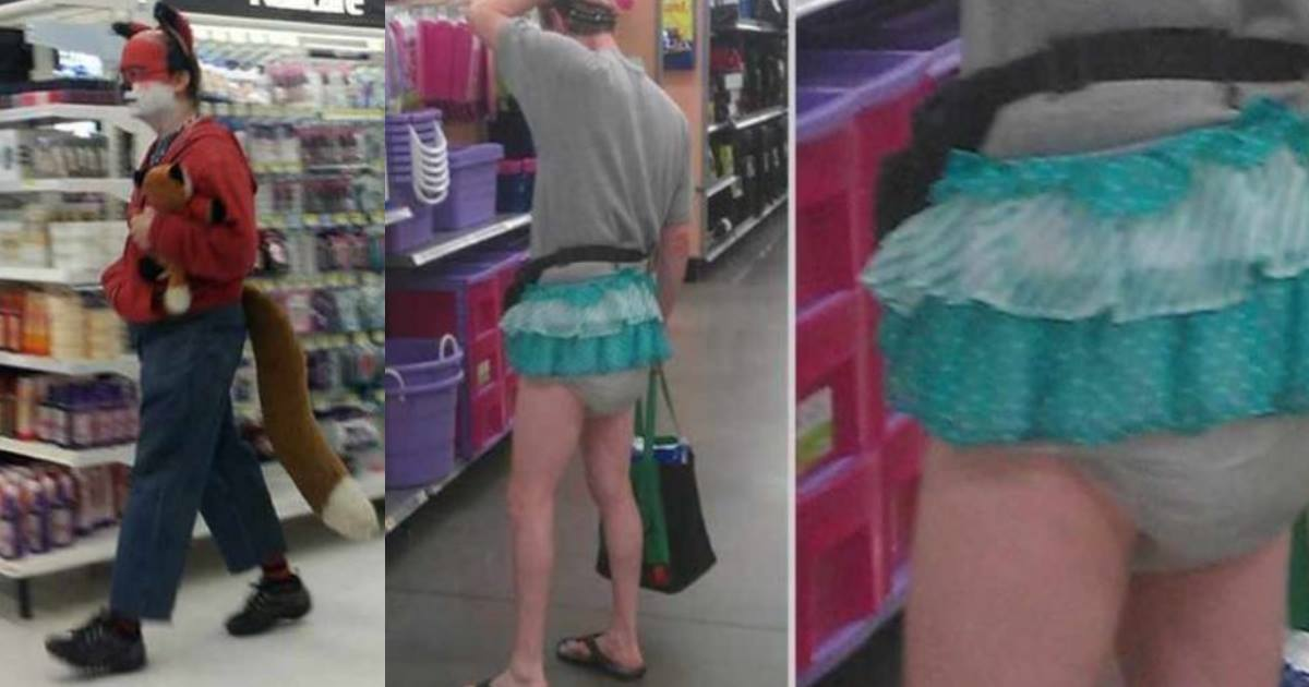 44 people of walmart.jpg - Funny Photos That Prove The World Is Full Of Weird Shoppers