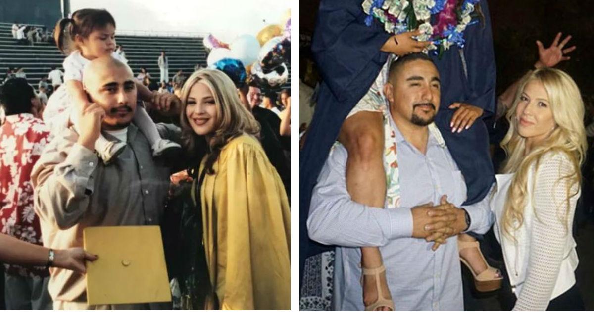 fdgdfgdfg.jpg - Niña toma una foto con sus padres. Después de 17 años, publica dos imágenes para exponer la verdad.