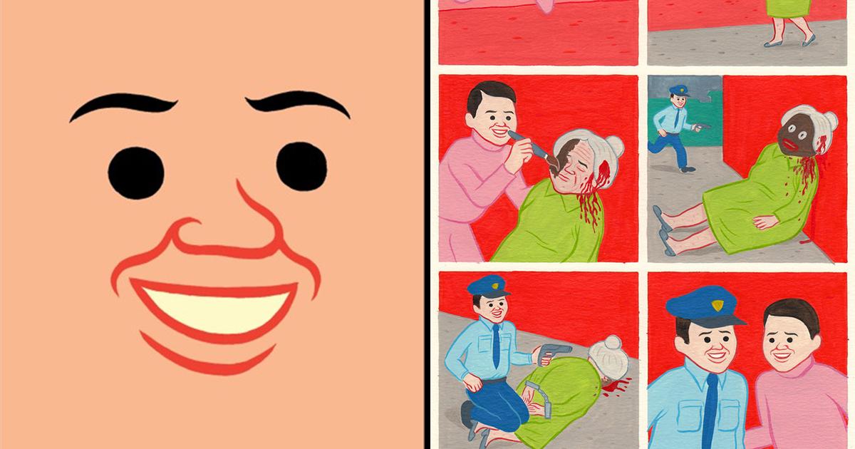 article thumbnail 17.jpg - 어른들을 위한 잔혹동화, 귀엽고 불편한 일러스트 작품 (사진 15장)