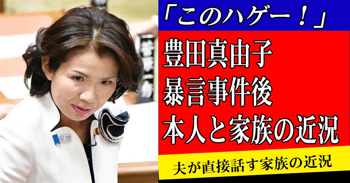 toyotagiin sum170824.png - 「このハゲー!」で有名な豊田真由子議員の家族は今どうなったいる?