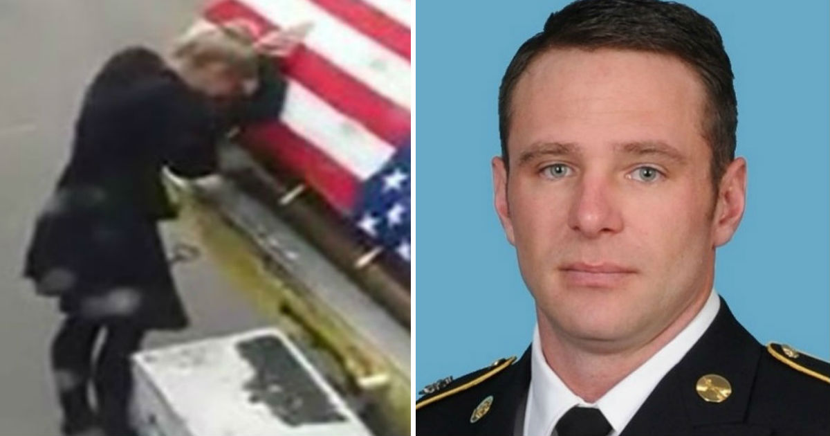 war hero comes back 1.jpg - Heartbroken Wife Broke Down When She Finally Saw Her Husband's Coffin At The Airport