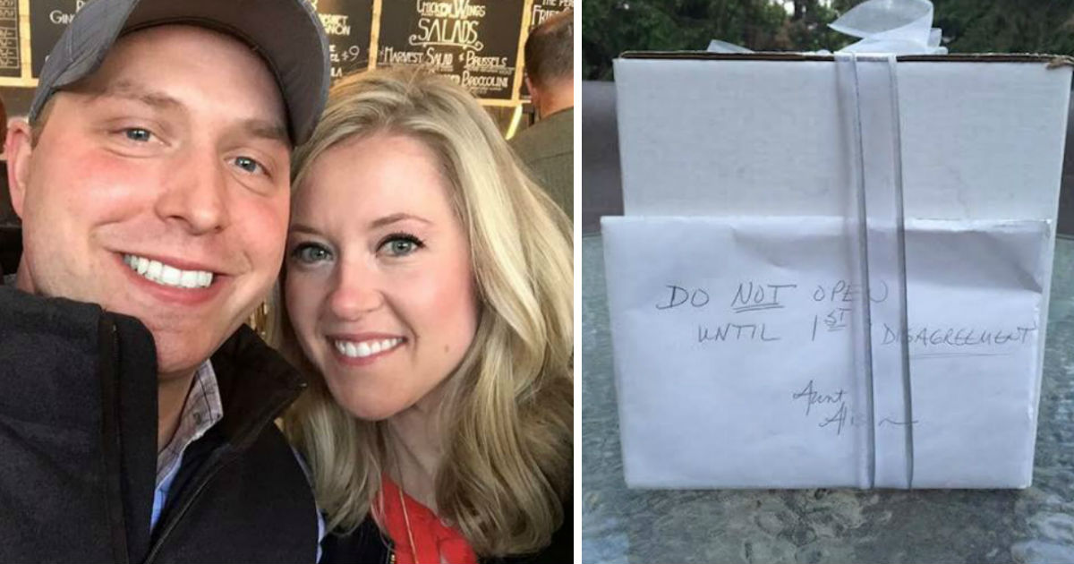 wedding gift.jpg - Couple Waited For 'Biggest Fight' To Open Wedding Gift Received From Aunt