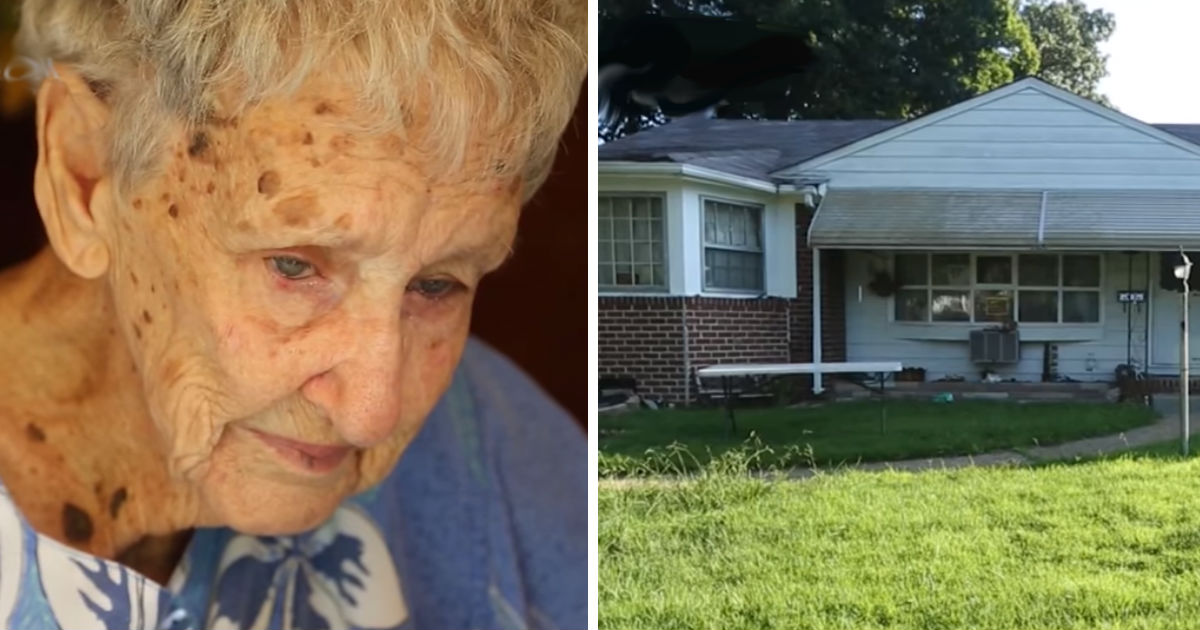 widow faces fines.jpg - 90-Year-Old Woman In Tears When Community And Strangers Came To Fix Her House