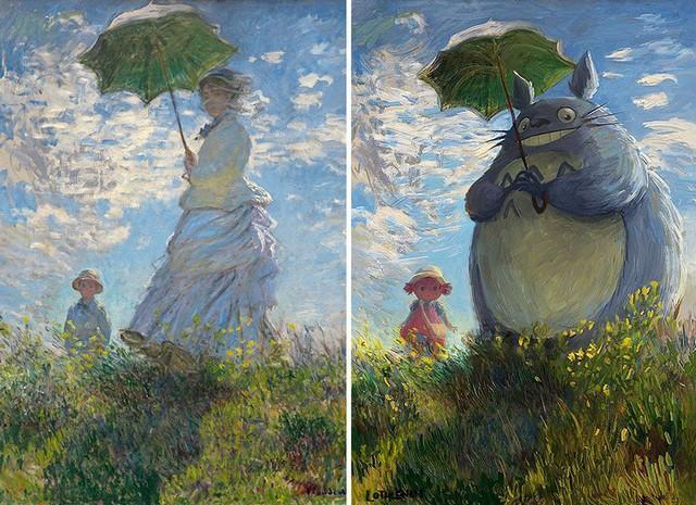 1 classic 2.jpg - Artista digital faz releitura de pinturas clássicas com um olhar geek