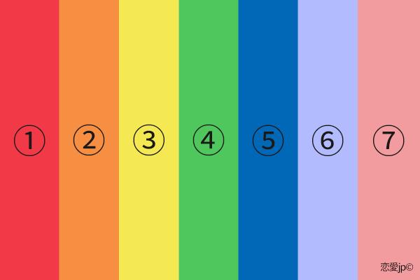 20170916021601 20170420thusayuri.png - 「心理テスト」7つの色の中で一番好きな色は?