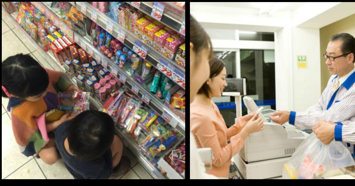 konbini ttl.jpg - 子供が商品にいたずら!「買い取らなければならないの?」