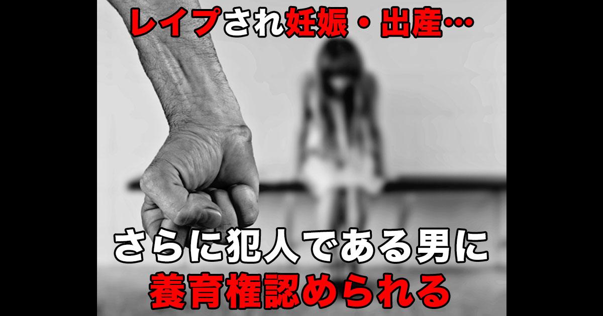 88 45.jpg - 強姦犯にレイプにより生まれた子どもの共同養育権が認められ混乱