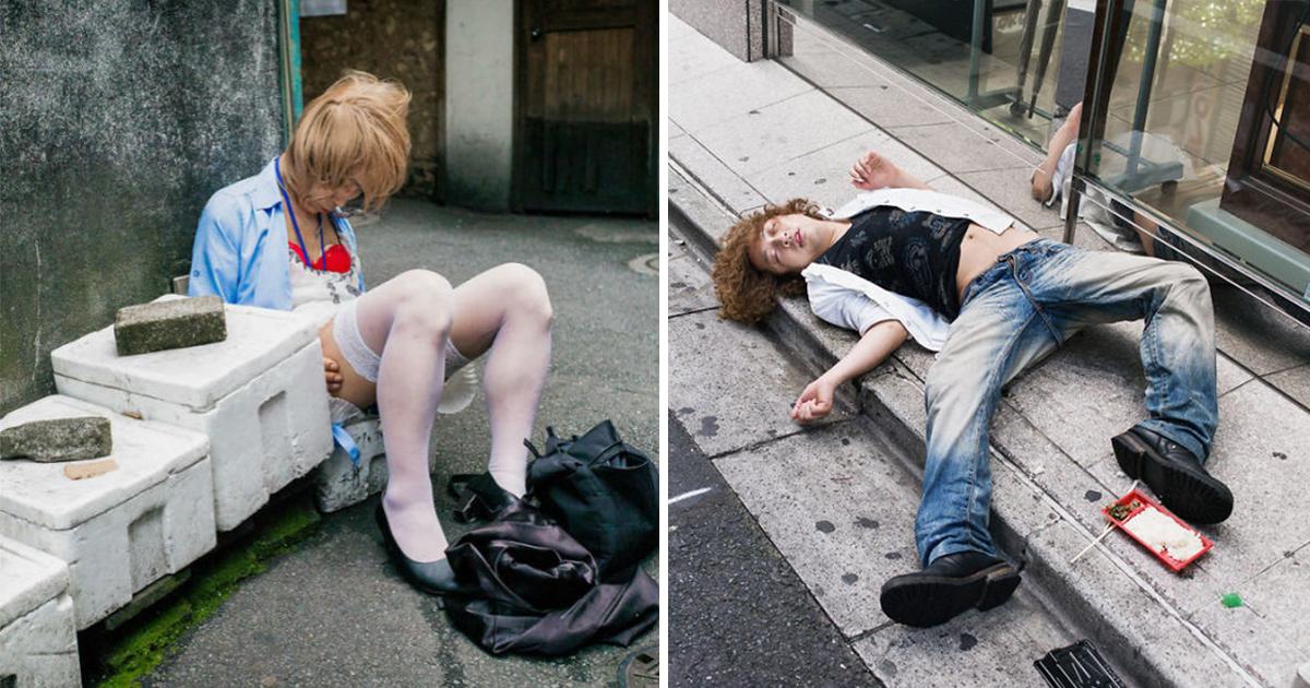 article thumbnail 15.jpg - 술 취한 모습은 전세계 공통?! 일본의 진상 '만취자' 사진 모음(+20)