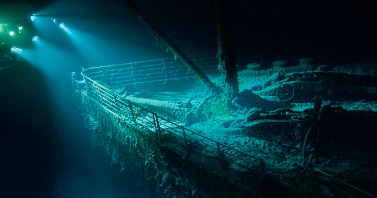 cover 4.jpg - El increíble hallazgo de los restos del Titanic, en el momento de su descubrimiento