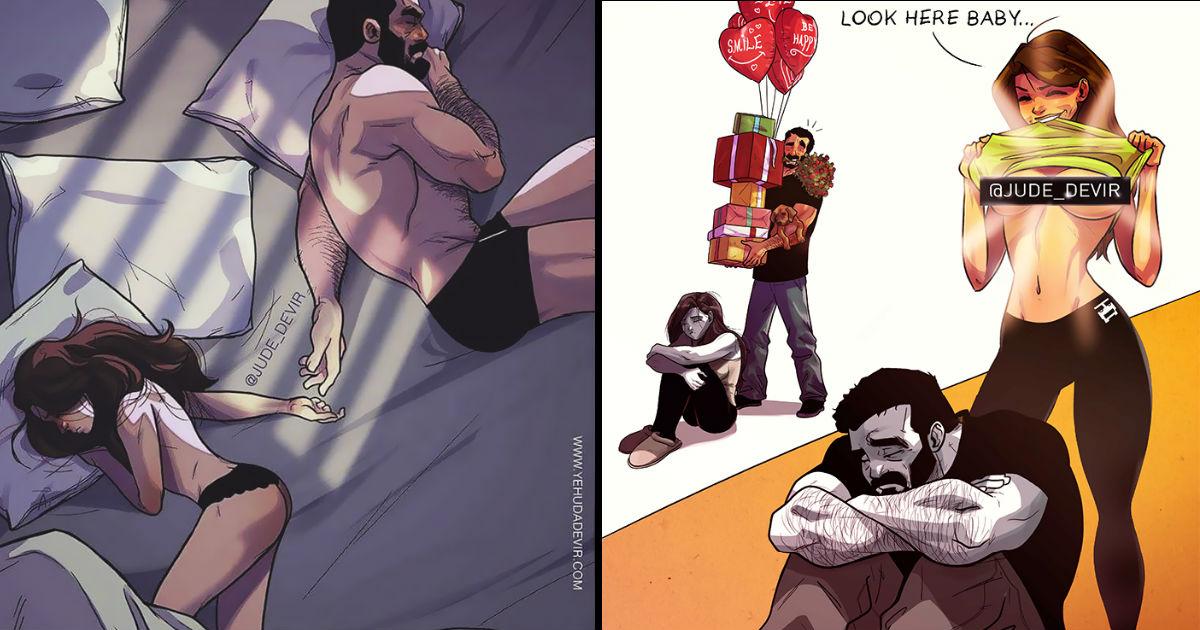dfad.jpg - '비글미' 넘치는 아내와의 행복한 일상을 만화에 담은 남편(+18)