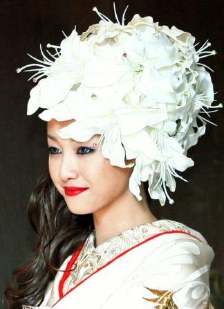 派手婚】沢尻エリカの結婚式の白無垢は女性の憧れ , Hachibachi