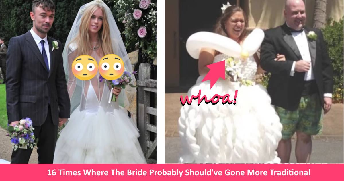 16 Times Brides Shouldve Picked A Different Wedding Dress Instead