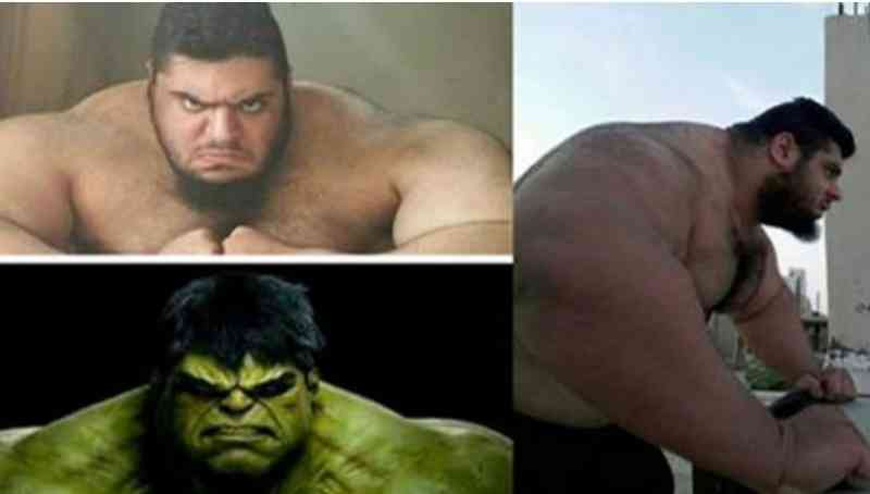 capture61.jpg - Hulk Came To ALIVE! 10 Photos Of The Real Life Hulk, Sajad Gharibi