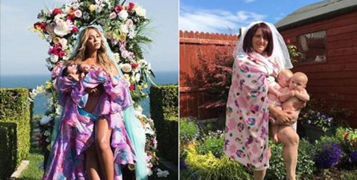 ecbaa1ecb298 57.png - An Irish Mother Hilariously Mimicking Beyonce's Baby Reveal Photo