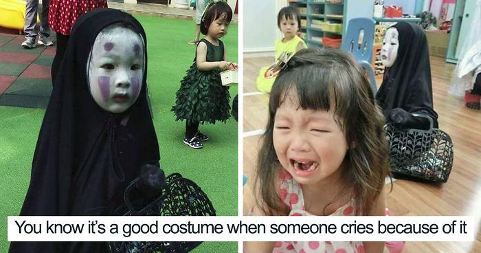 kindergartener girl death note l ryuk halloween costume fb7  700 png.jpg - Taiwanese Kindergartner Who Won Last Year's Halloween With No-Face Costume Surprises Everyone Again