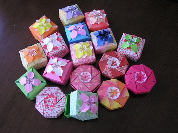 261 4.jpg - 机の上に置くとかわいい!折り紙でゴミ箱を作る方法