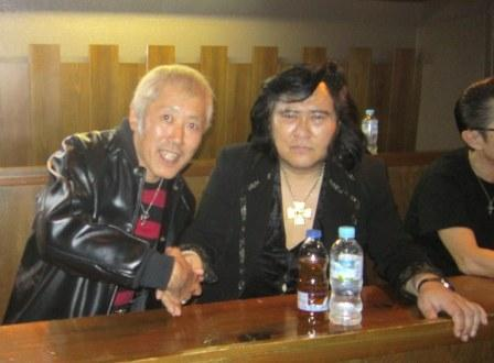 Image result for ジョニー大倉と矢沢永吉