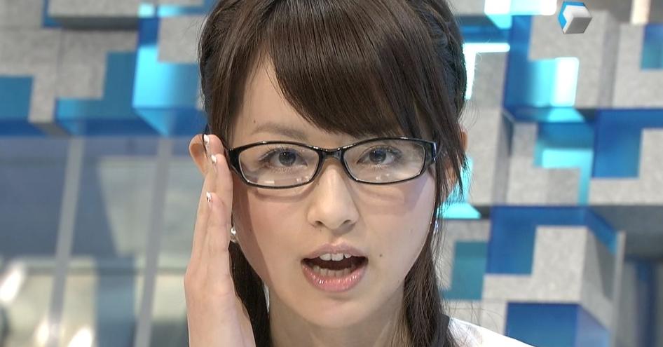 平井理央のメガネ画像