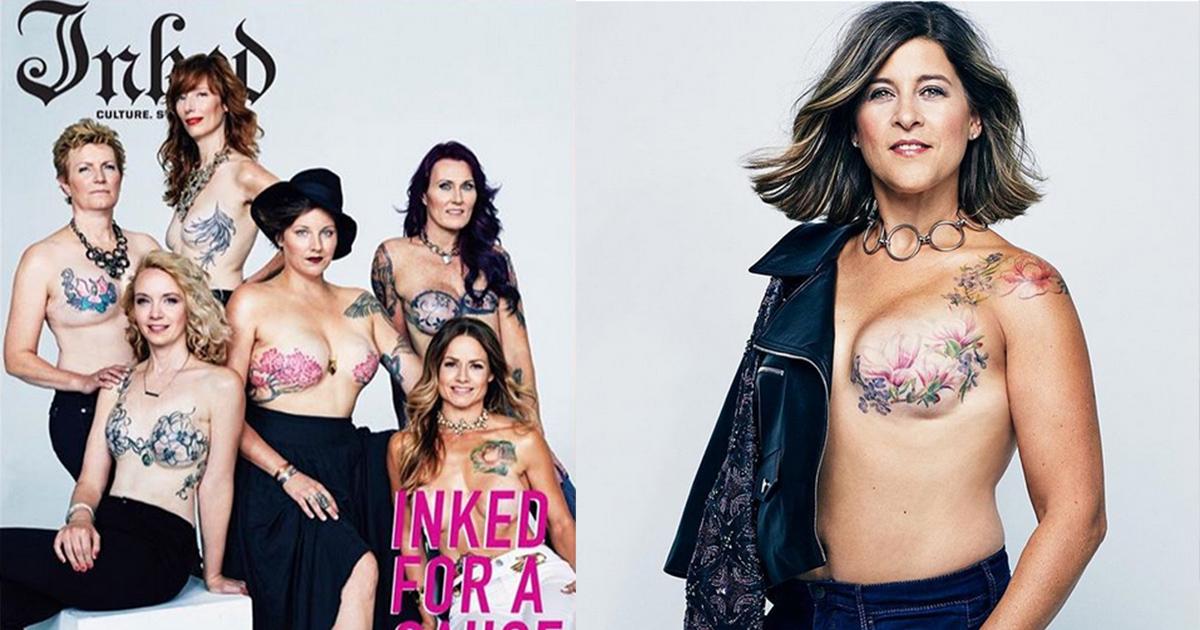 mainphoto inked.jpeg - Mulheres que superaram o câncer de mama recebem ensaio de foto inspirador