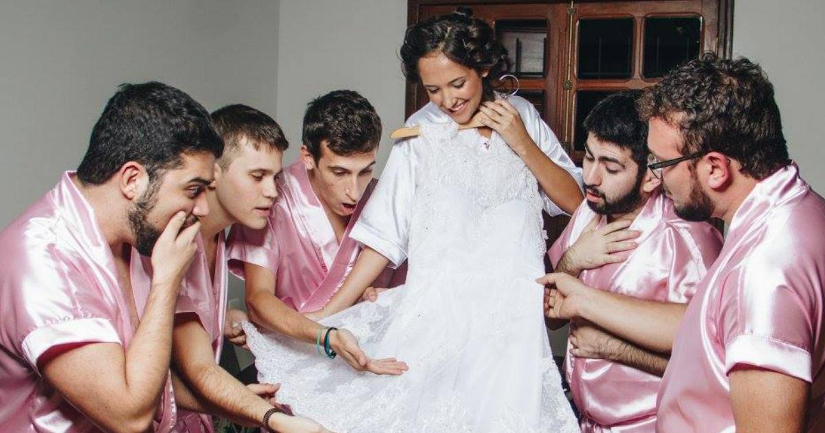 noiva1.jpg - Noiva sem amigas mulheres transforma o seu casamento num ensaio muito divertido
