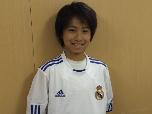 real enters at the age of 9 genius football juvenile nakai taku univ E4B8ADE4BA95E58D93E5A4A7E383ACE382A2E383ABE383A6E3838B.jpg - 9歳でレアル入り!天才サッカー少年・中井卓大の現在と気になる噂を追求!