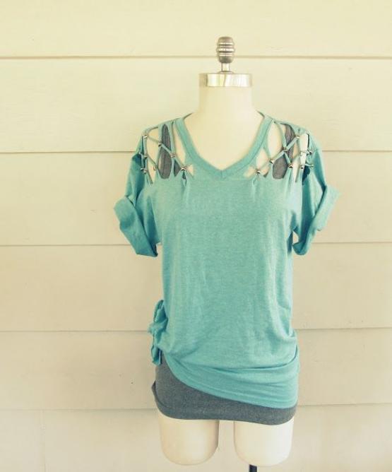 t shirt just as it is boring remake o DETQ 5732b35337a011462940499.jpg - Tシャツ、そのままじゃつまらない。リメイクでオリジナルデザインにしませんか?