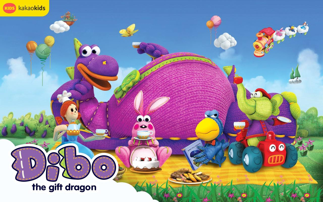 Image result for dibo the gift dragon