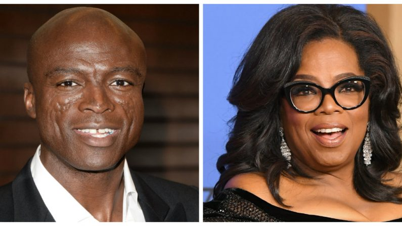 "5a6a9640407e2  oprah and seral 795x447.jpg - Seal Calls out Oprah Winfrey for Hypocrisy Calling her ""Part of the Problem"""