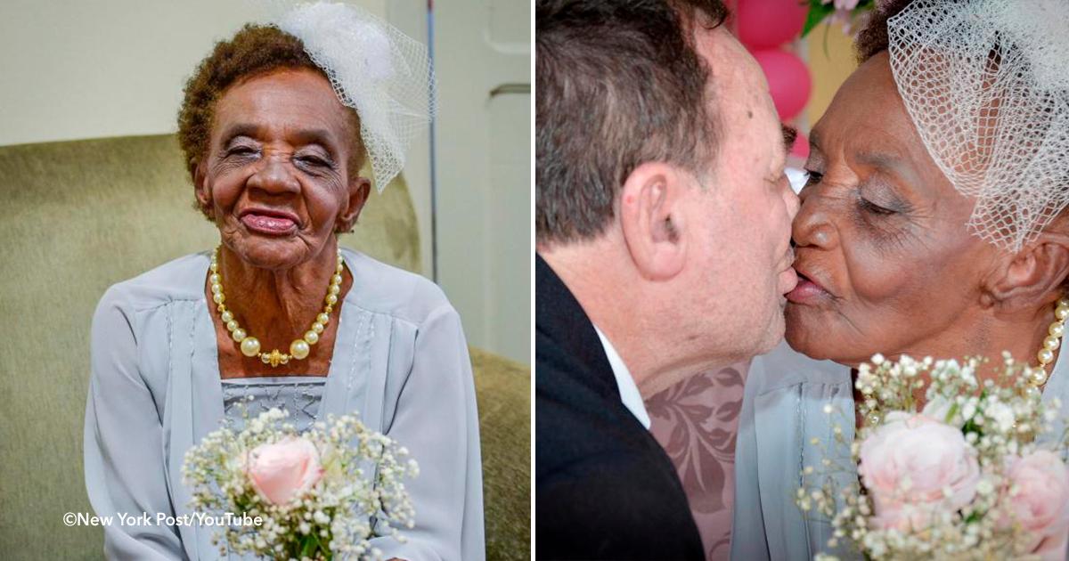 cover 3.png - Se casó a los 106 años y es la novia más grande del mundo, su novio está completamente enamorado