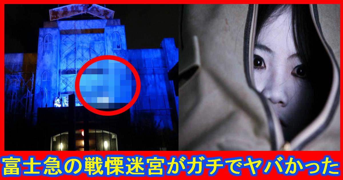 horror.jpg - 富士急ハイランドのお化け屋敷『戦慄迷宮』には本物の幽霊が出る⁉