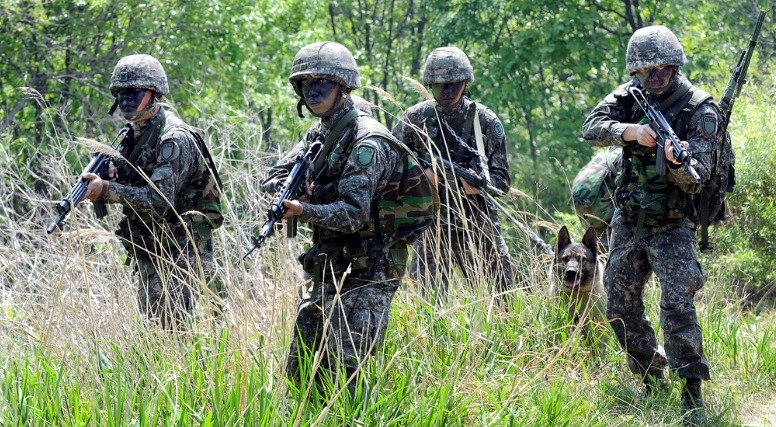 한국 군대에 대한 이미지 검색결과