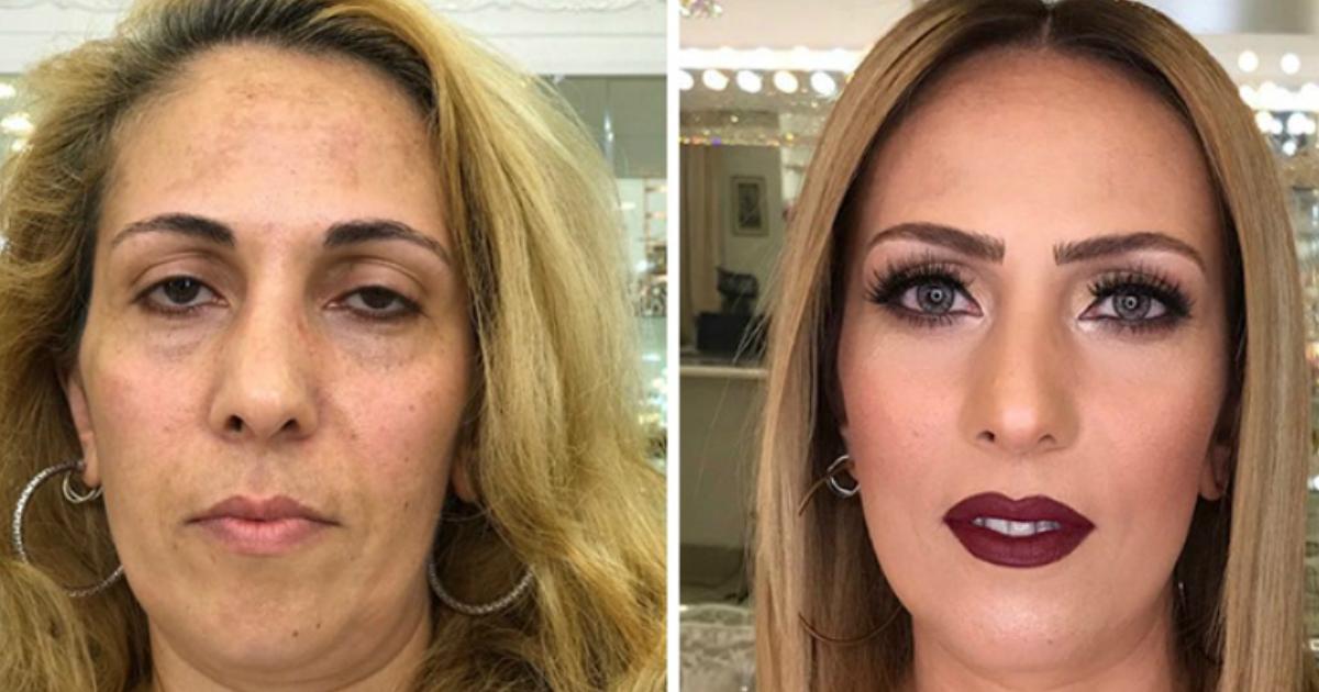maqua.jpg - Maquiador talentoso rejuvenesce clientes com seu trabalho e prova o poder da maquiagem