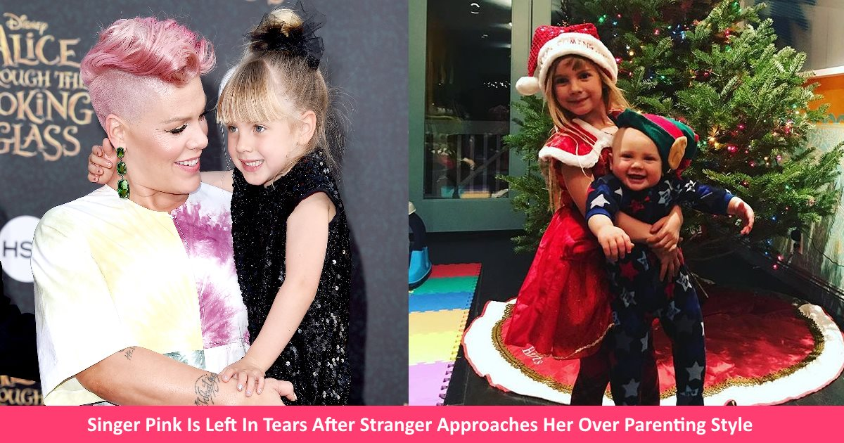 pinkmother.jpg - Singer Pink Left In Tears After Stranger Approached Her And Praised Her Parenting Style