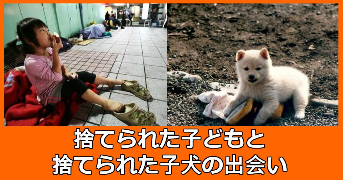 boy n dog.jpg - 自分と同じ境遇の「捨て犬」を毎日抱いて眠る「孤児」少年