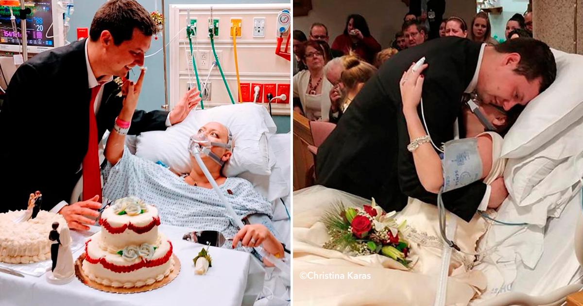 dddd.png - Una pareja decide casarse aunque ella estaba a punto de morir de cáncer, 18 horas después él quedó viudo.