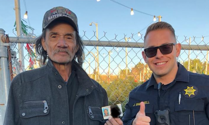 homeless.png - Cop Helps Homeless Get An ID Instead Of Issuing Citation For Panhandling