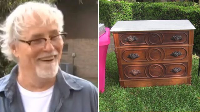 vet.jpg - Texas Man Accidentally Finds Hidden Treasure In Old Chest From Estate Sale